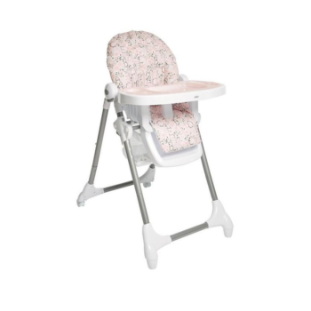 Snax Highchair with Removable Tray Insert - Alphabet Floral