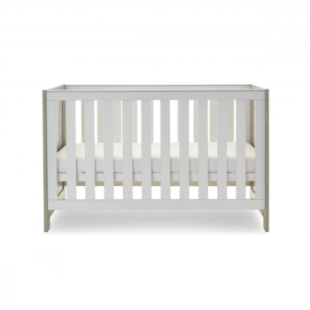 Obaby Nika 2 Piece Set - Grey Wash and White Cotbed 3